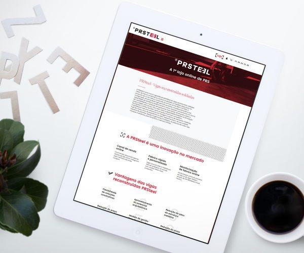 Site PRSteel - Vigas PRS